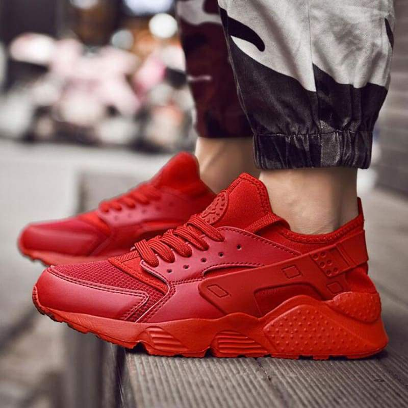 Casual Shoes Breathable For Men and Women - Red / 4.5 - Shoes Sneakers