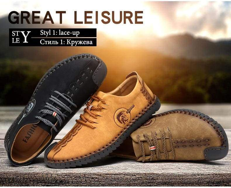 Casual Shoes Loafers Men Shoes - Leather Shoes