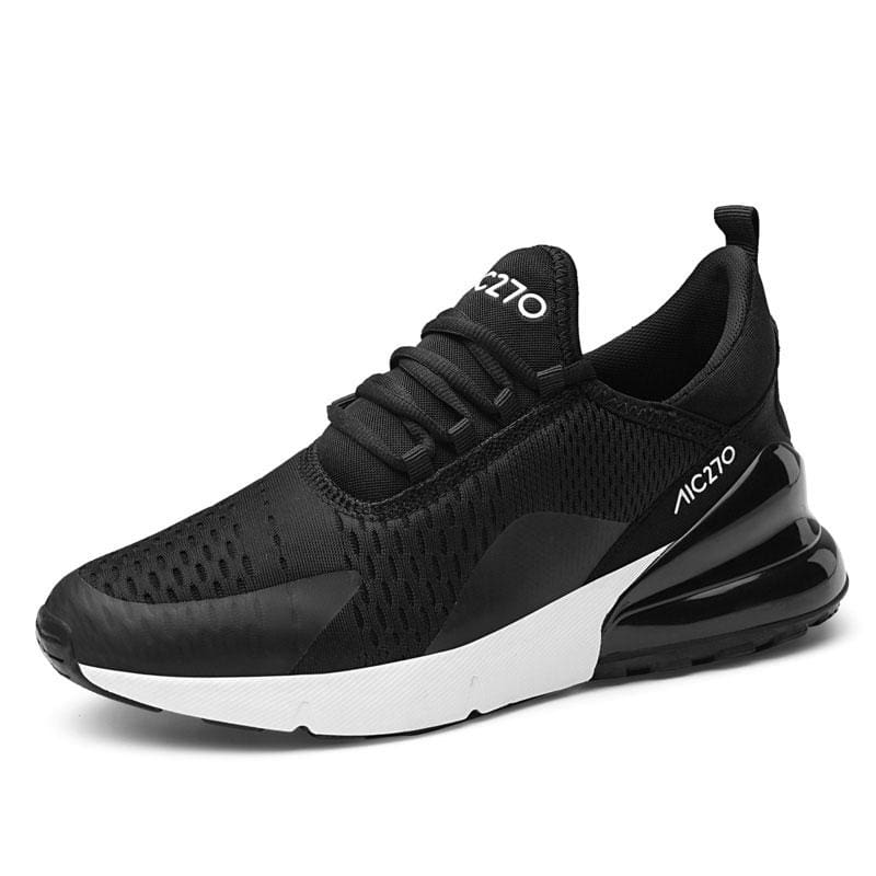 Casual Sneakers Breathable - black white / 36 - Womens Vulcanize Shoes
