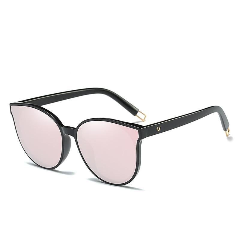 Cat Eye Sunglasses Elegant - 1700 black pink - Sunglasses