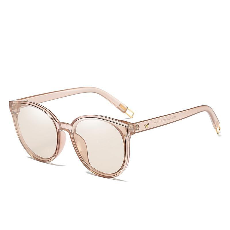 Cat Eye Sunglasses Elegant - 1700 brown clear - Sunglasses