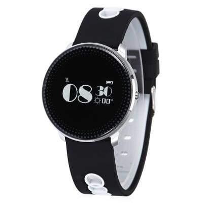 CF007 smart bracelet - White And Balck - Smart Wristbands