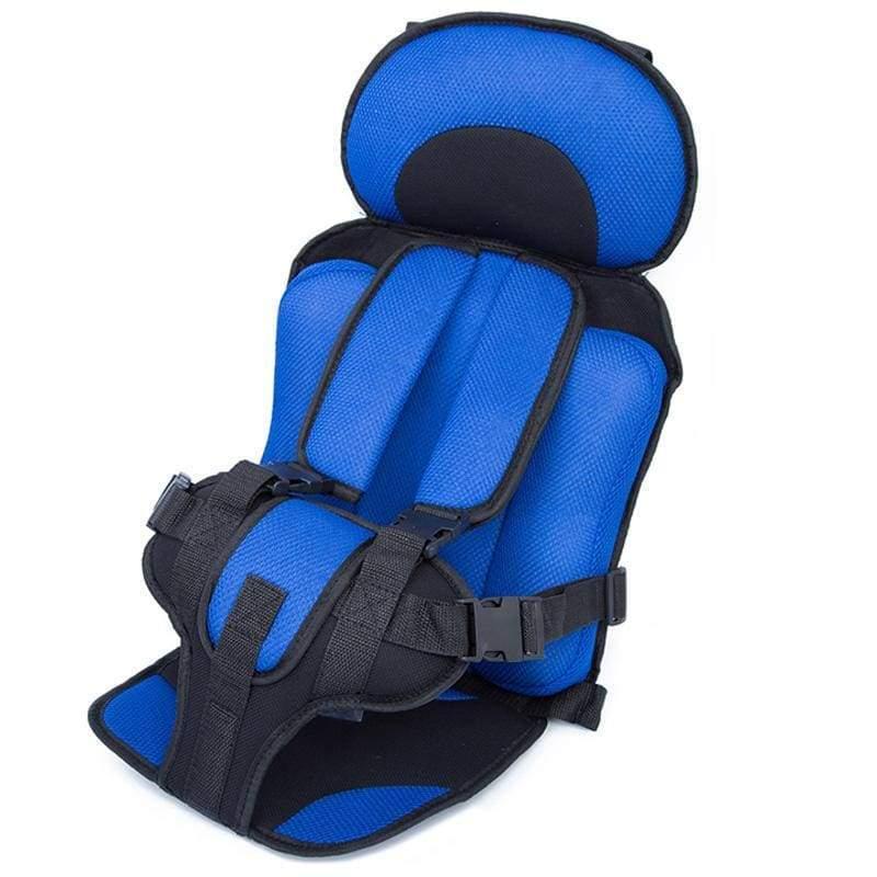 Child Secure Seat belt Vest Portable Safety Seat - Blue - Child Car Safety Seats