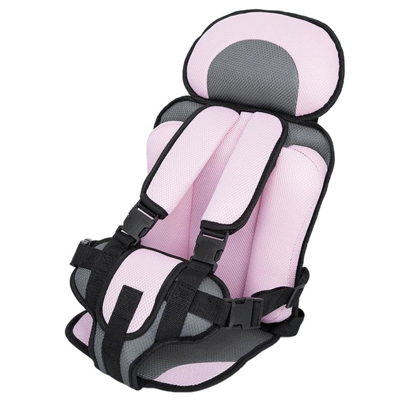 Child Secure Seat belt Vest Portable Safety Seat - Pink - Child Car Safety Seats
