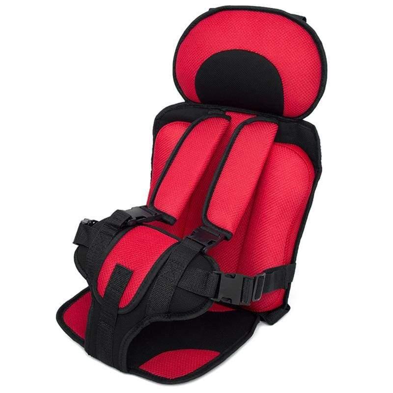 Child Secure Seat belt Vest Portable Safety Seat - Red - Child Car Safety Seats