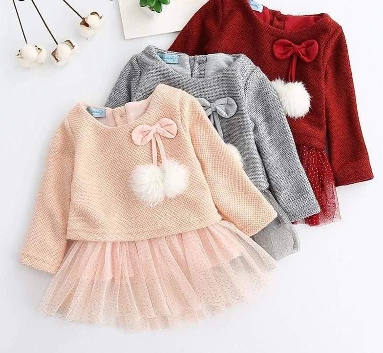 Christmas Baby Dress - Dresses