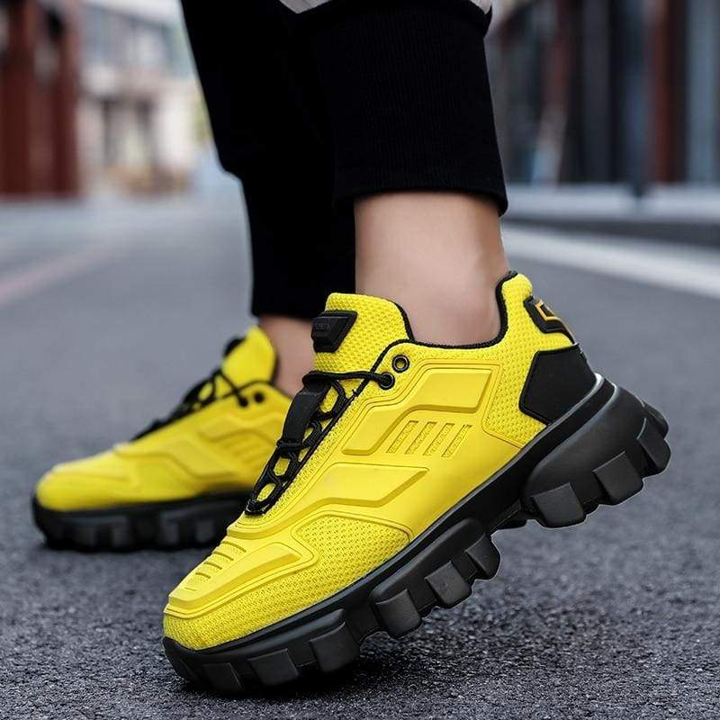 Chunky Trainers Footwear Breathable Shoes - Casual Shoes