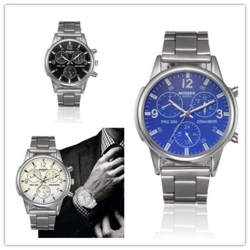 Classic wristwatch for men - Quartz Watches