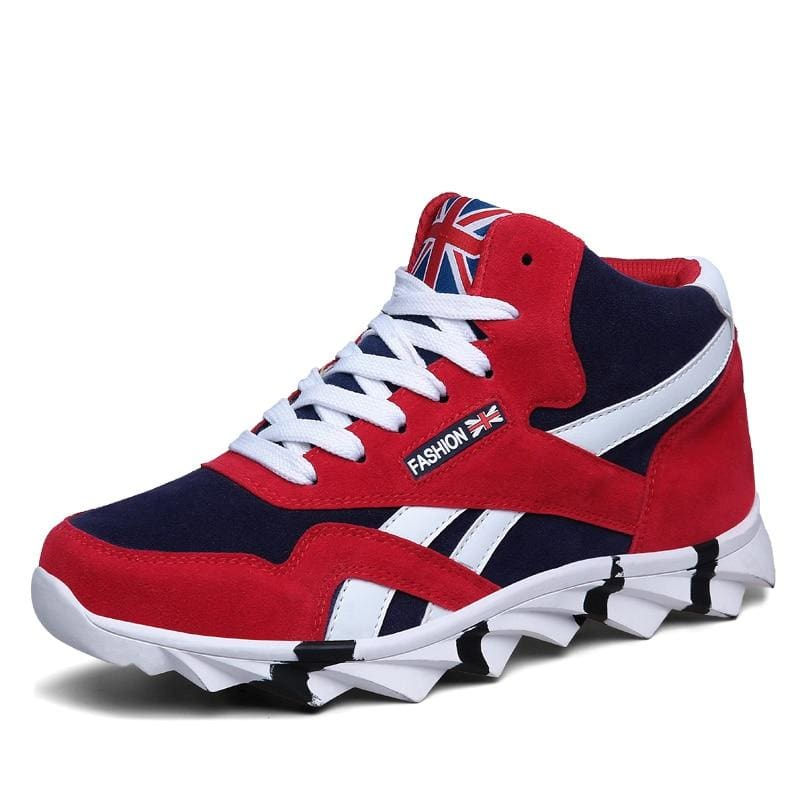Comfortable Autumn Sneakers Shoes - 8708 Red / 13 - Mens Casual Shoes