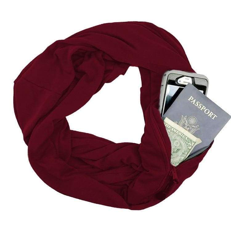 Convertible pocket scarf - Red - Party DIY Decorations