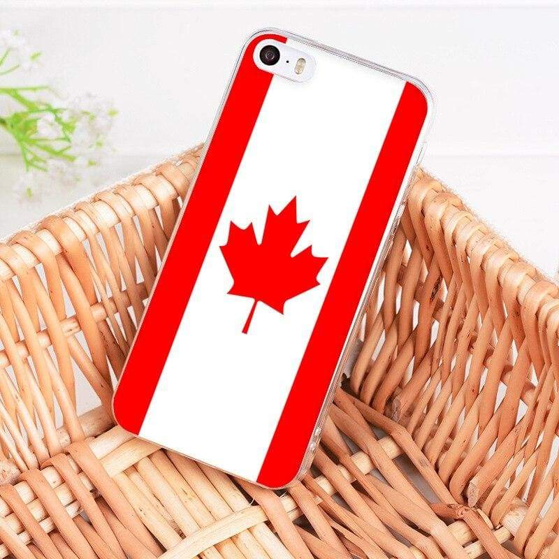 Country Flag iPhone Case - 1 / For iPhone 5 5s - Half-wrapped Case