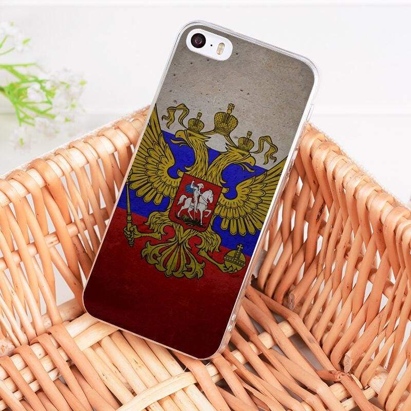 Country Flag iPhone Case - 9 / For iPhone 5 5s - Half-wrapped Case