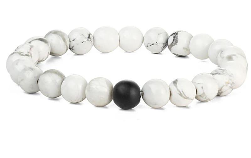 Couples Bracelet For Yoga Fitness Positive Energy - Chain & Link Bracelets
