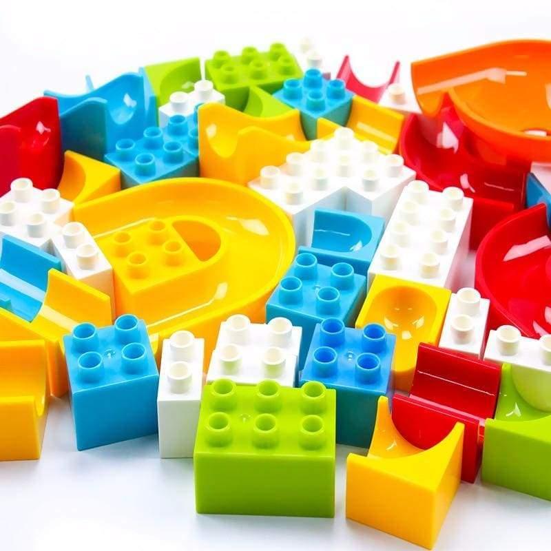 Crazy marble tracks for kids - Blocks