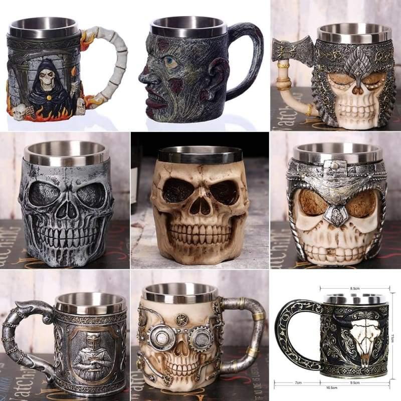 Creative Skull Mug Just For You - Mugs
