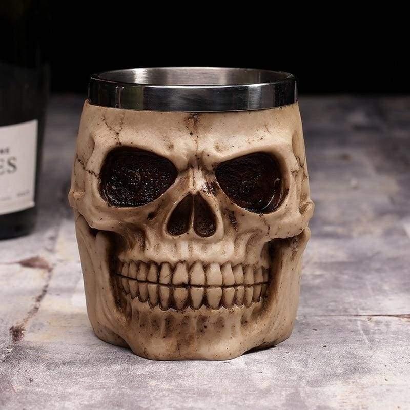 Creative Skull Mug Just For You - S10 / 450ML(FULLED) - Mugs