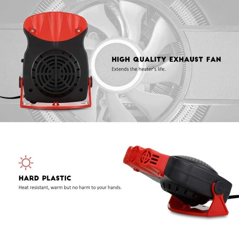 Defrost and defog car heater - Heating & Fans