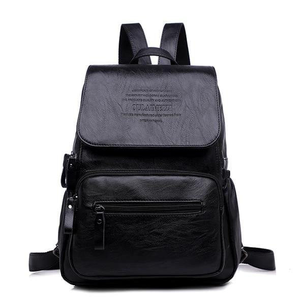 Designer Women Backpack Just For You - Black / 12 inches - Backpacks
