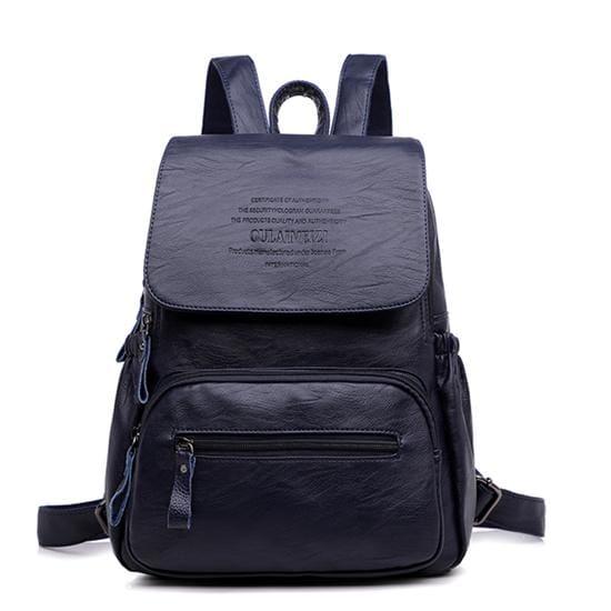 Designer Women Backpack Just For You - Blue / 12 inches - Backpacks