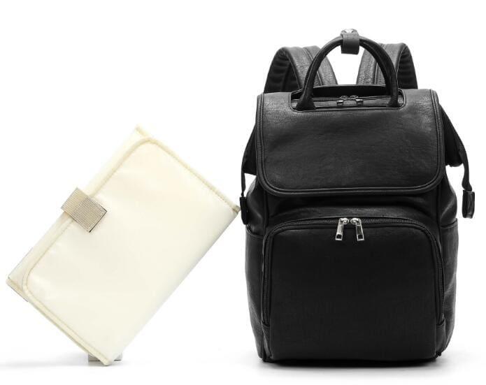 Diaper Bag For Small Baby - Black - Diaper Bags