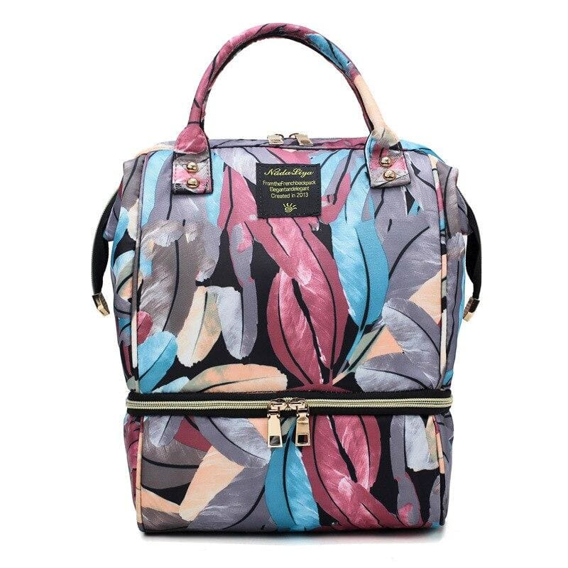 Diaper Bag Mummy Just For You - feather-NO USB - Diaper Bags