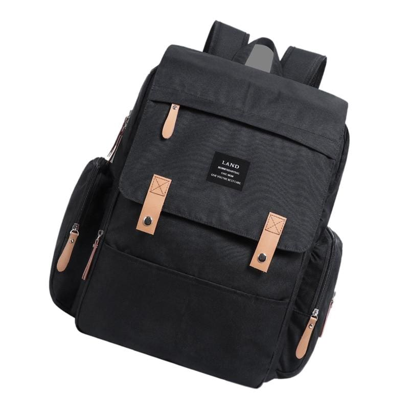 Diaper Bags for Baby Just For You - Black - Backpacks
