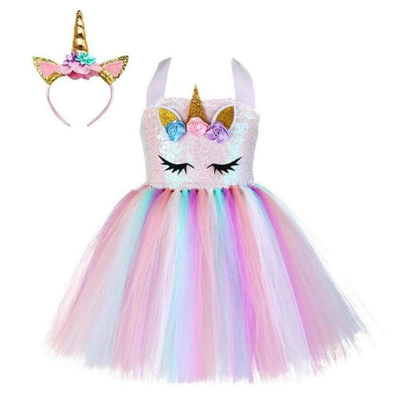 Fairy Dress Outfit For Girls - Halloween Party Dress