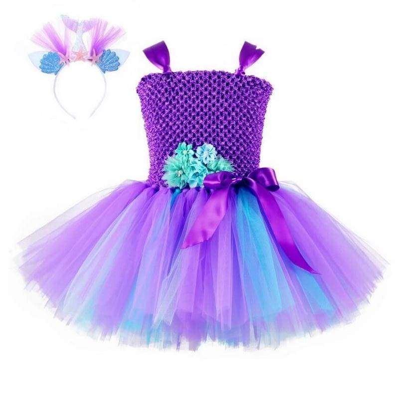 Fairy Dress Outfit For Girls - style-F / 24M - Halloween Party Dress