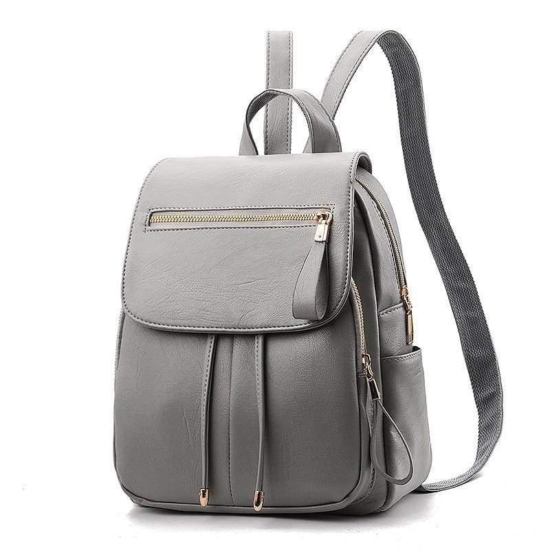 Fashion Backpack Casual Just For You - Gray Handbag - Backpacks