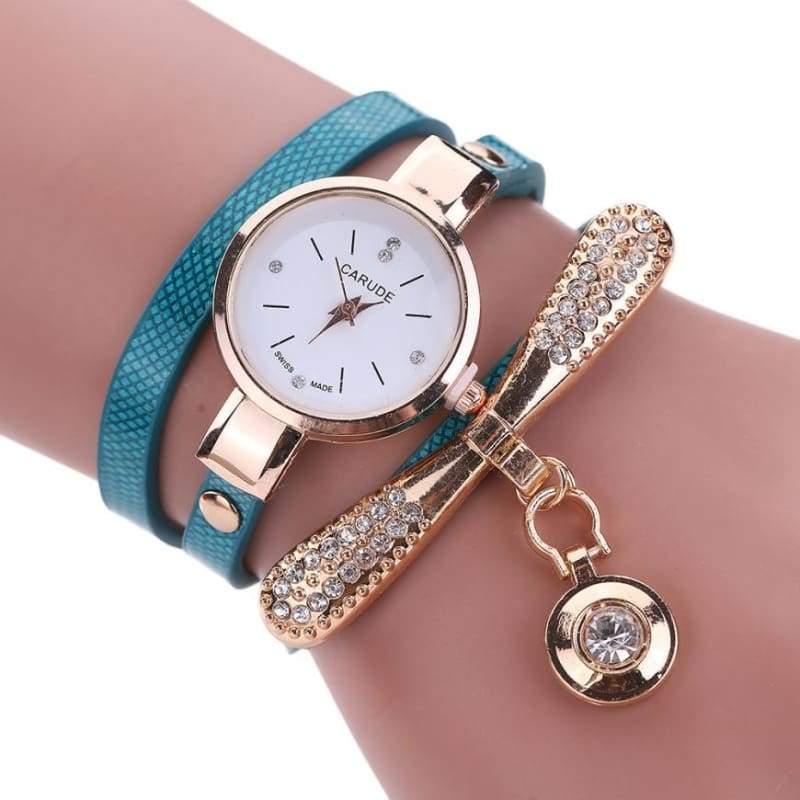 Fashion Bracelet Watch - Blue - Womens Watches