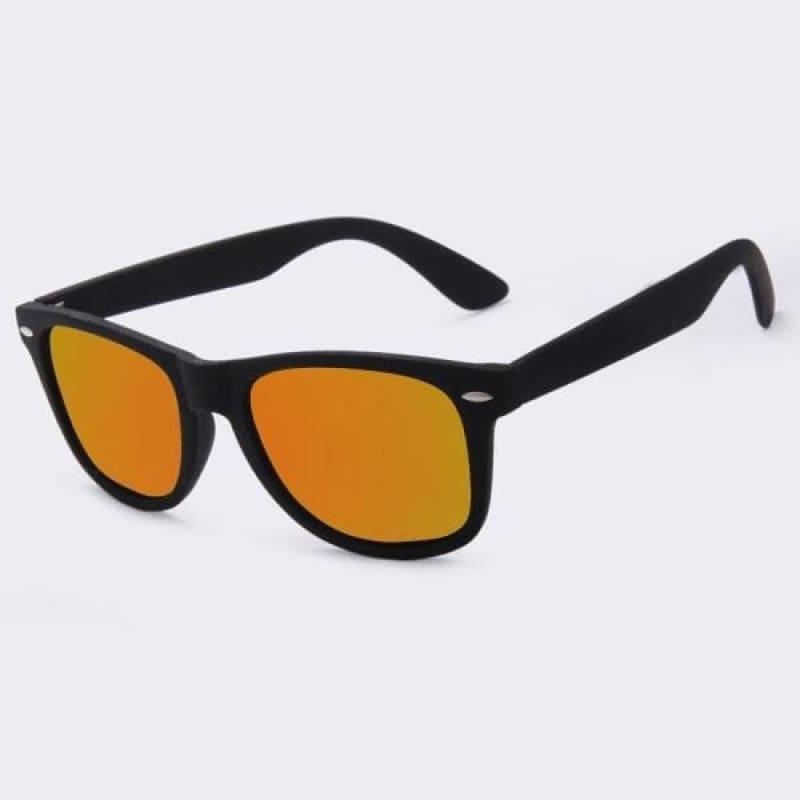 Fashion Polarized Sunglasses - C01Orange mirror - Sunglasses