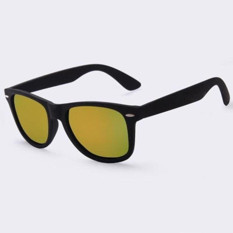 Fashion Polarized Sunglasses - C02Gold mirror - Sunglasses