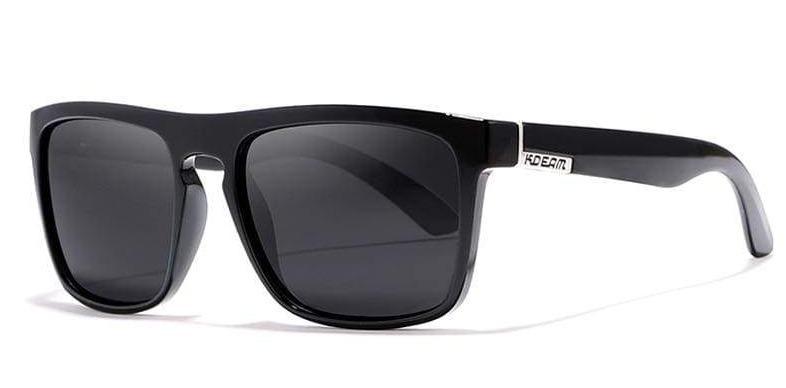 Fashion Unisex Sun Polarized Sunglasses - C21 glossy black / Polarized With Box - Sunglasses