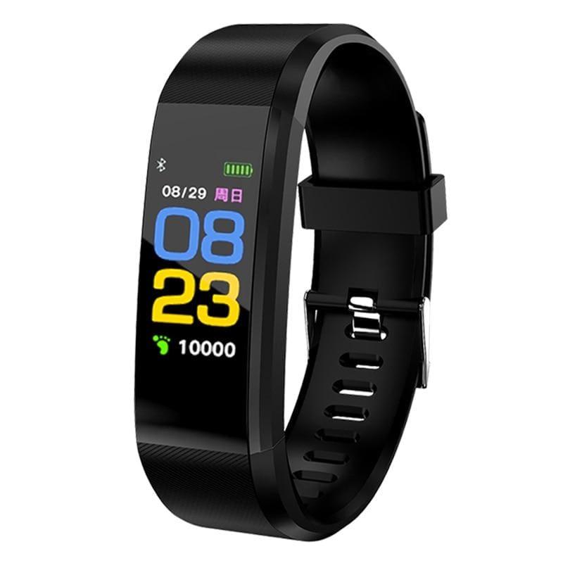 Fitness Tracker Smartwatch - black - Digital Watches