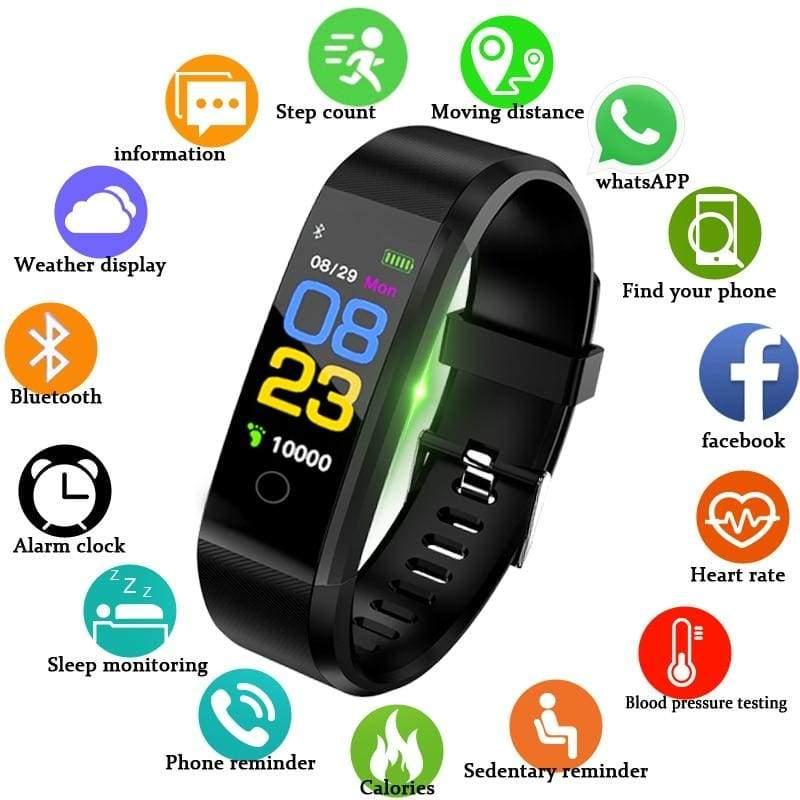 Fitness Tracker Smartwatch - Digital Watches