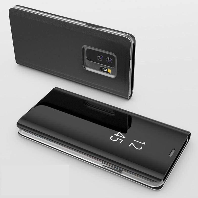 Flip Stand Touch Case - Black / For Samsung S7 - Flip Cases