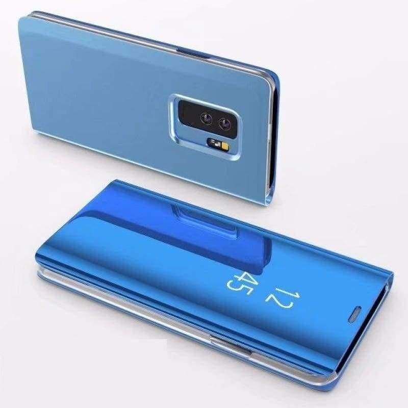 Flip Stand Touch Case - Blue / For Samsung S7 - Flip Cases