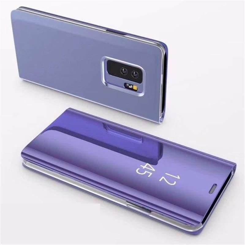Flip Stand Touch Case - Purple / For Samsung S7 - Flip Cases