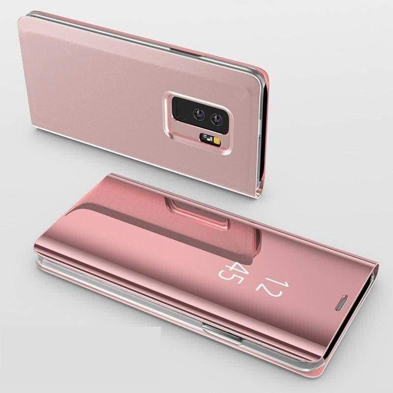 Flip Stand Touch Case - Rose / For Samsung S7 - Flip Cases