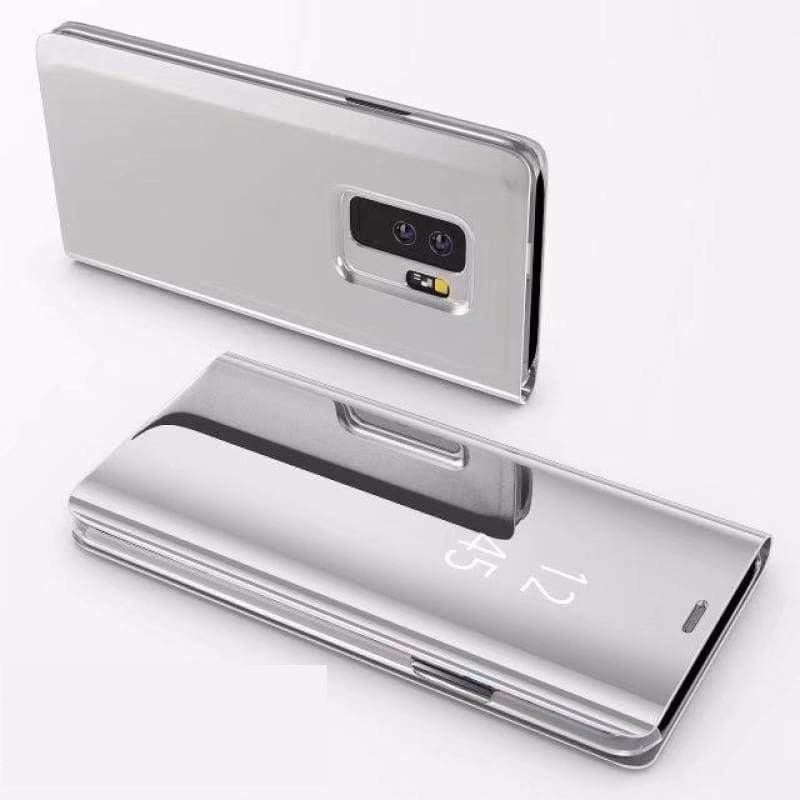 Flip Stand Touch Case - Silver / For Samsung S7 - Flip Cases