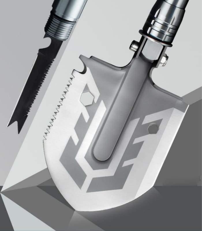Multi Tool Portable Military Folding Camping Snow Shovel