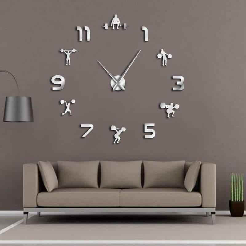 Frameless Wall Clock for Workout - Wall Clocks