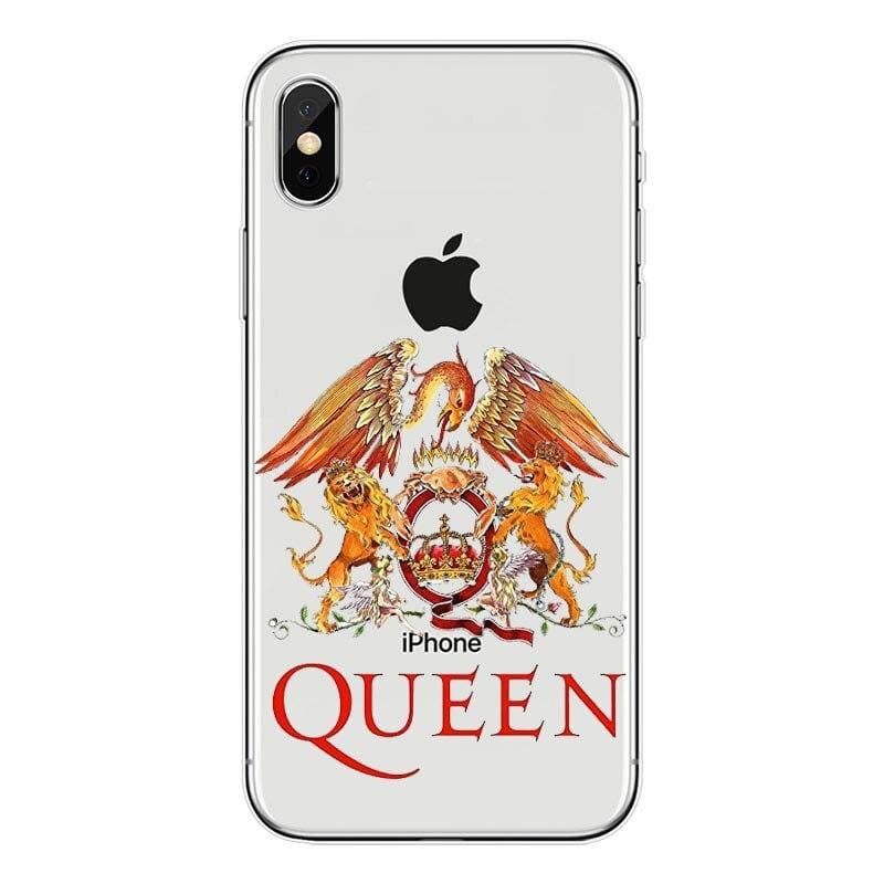 Freddie Mercury iPhone Case - For iPhone 7 8 1 / TPU - Half-wrapped Case