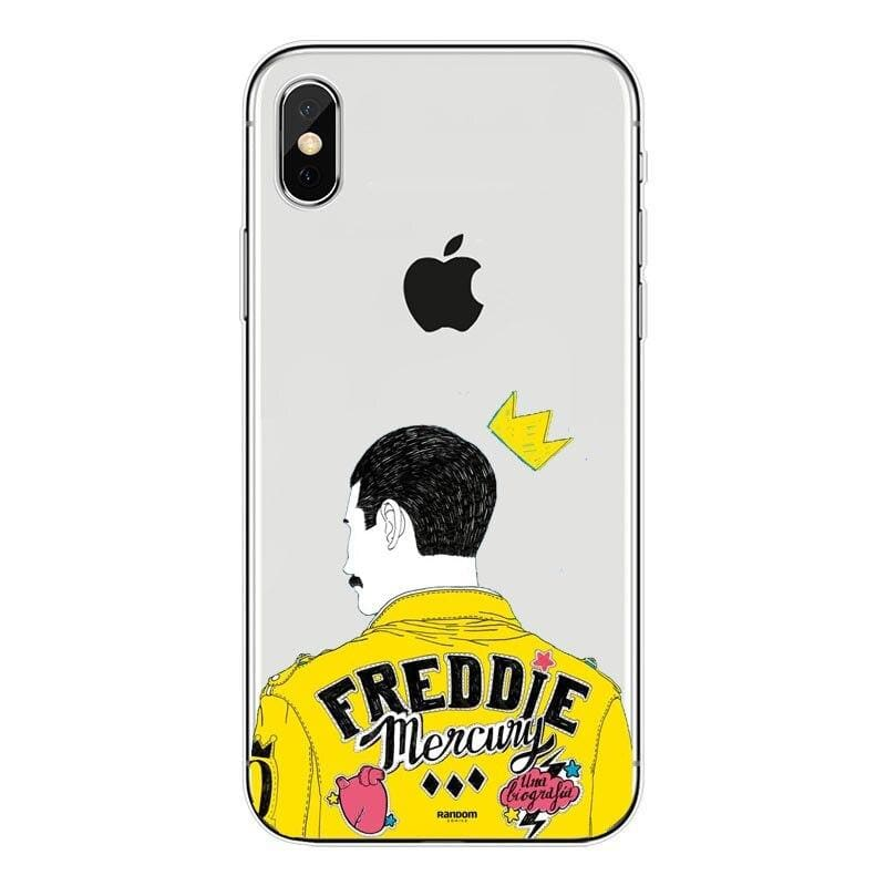 Freddie Mercury iPhone Case - For iPhone11 ProMax 74 / TPU - Half-wrapped Case