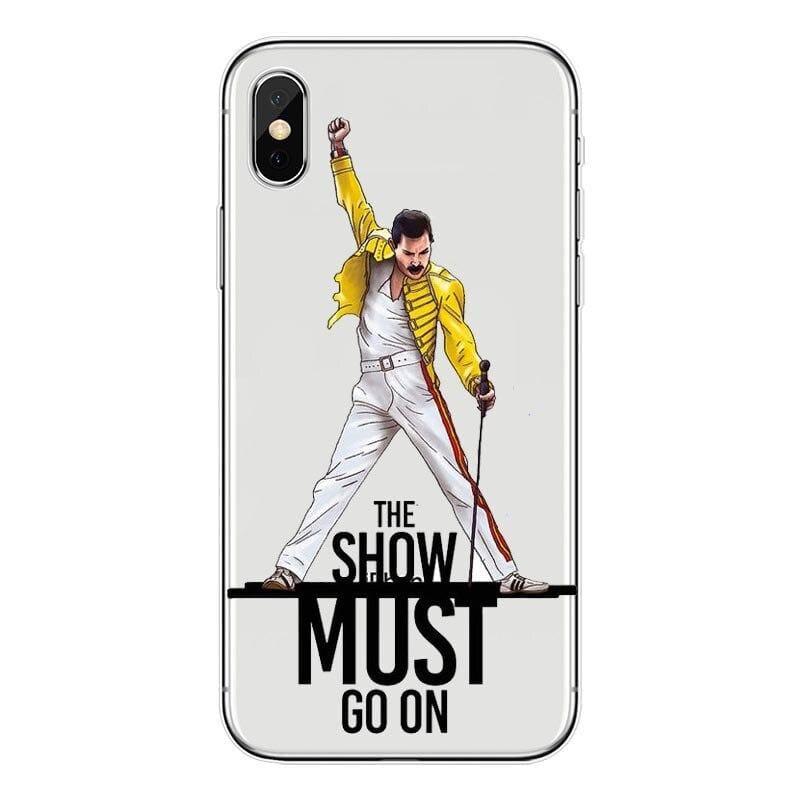 Freddie Mercury iPhone Case - For iPhone11 ProMax 84 / TPU - Half-wrapped Case