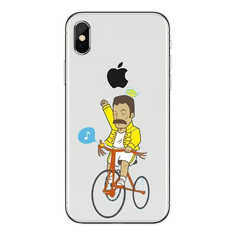 Freddie Mercury iPhone Case - For iPhone11 ProMax 86 / TPU - Half-wrapped Case