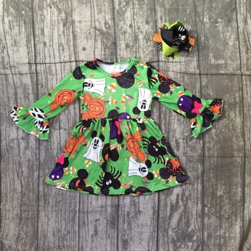 Ghost Pumpkin Spider Dress - Dresses