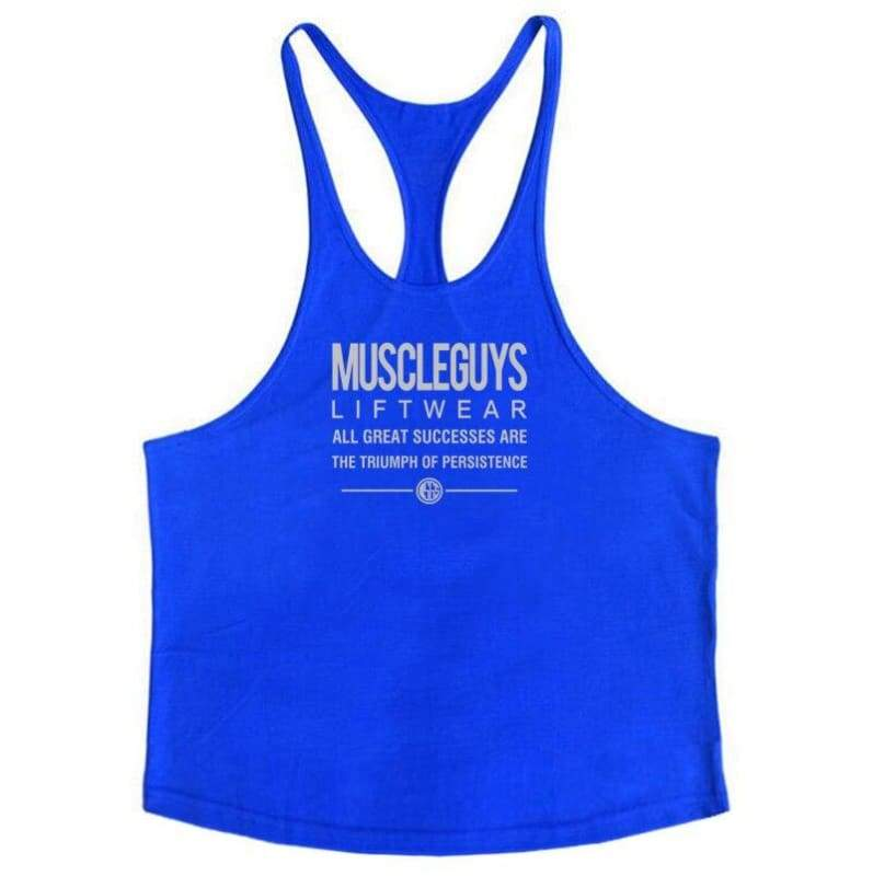 Golds Gym Tank Top Just For You - blue168 / M - Tank Tops