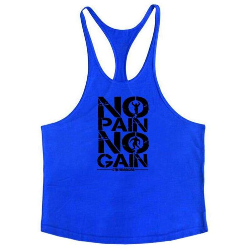 Golds Gym Tank Top Just For You - blue175 / M - Tank Tops