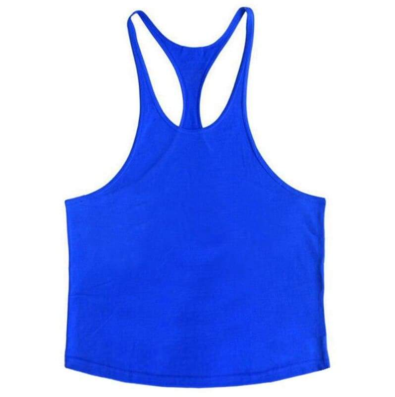 Golds Gym Tank Top Just For You - blue blank / XL - Tank Tops